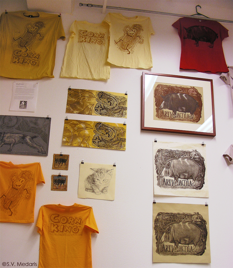 t-shirts and prints in Gallery 1134
