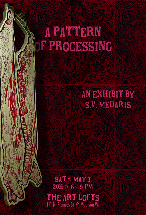 Pattern of Processing postcard