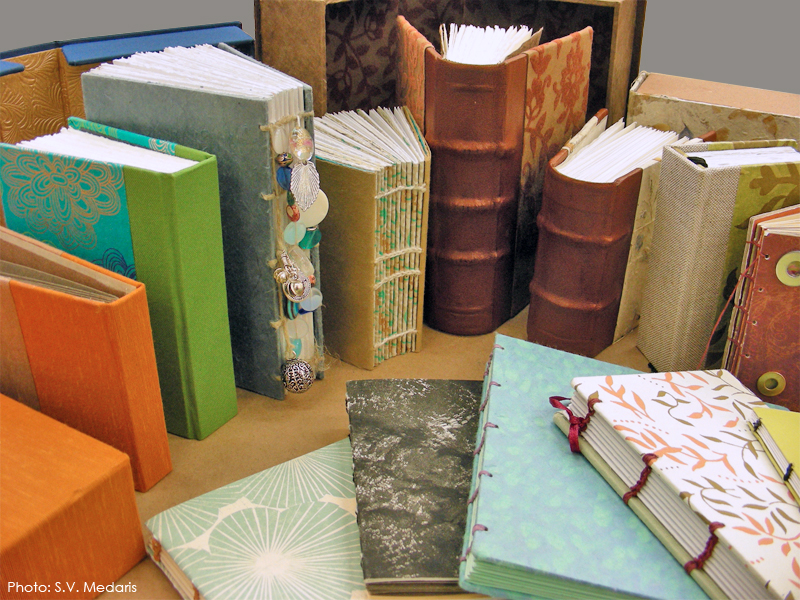 leather bound and other handmade artists' books