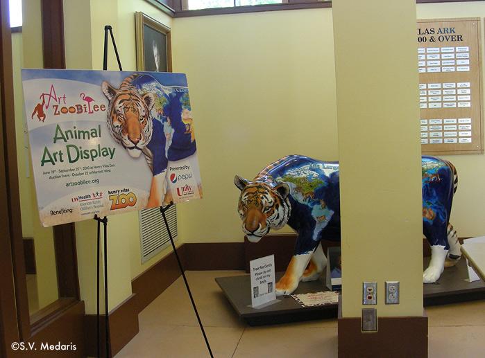 painted tiger by S.V. Medaris
