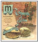 Isthmus cover for 'M' magazine: Old-time veggies