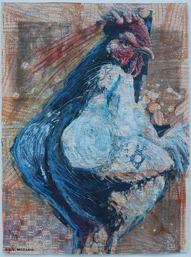 big chicken, monotype