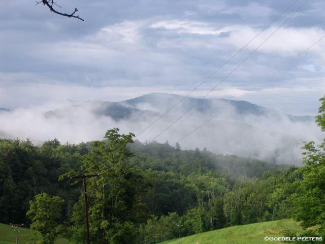 Another view of the Blue Ridge Mountains